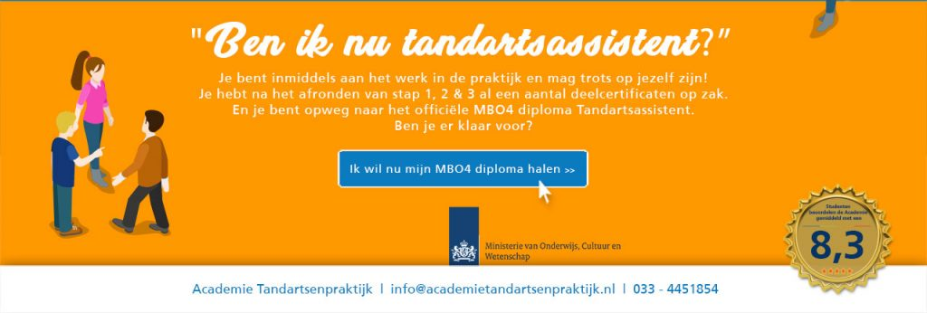 mbo opleiding tandartsassistent