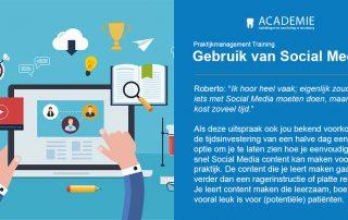 actp praktijkmanagement gebruik van social media